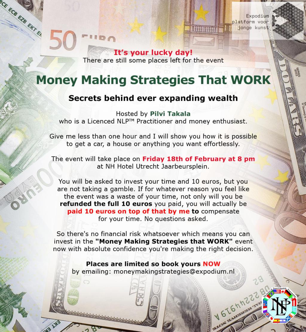 Pilvi Takala Money Making Strategies That WORK